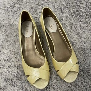Cole Haan Air Elly Low Wedge Ivory